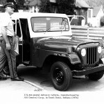 CJ-5 Postal Delivery Vehicle, 1974 r.