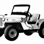 Jeep CJ-3B, 1953 r.