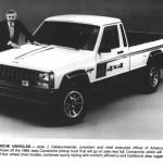Jeep Comanche, 1986 r.