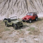 Jeep Willys MB i Jeep Wrangler