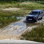Jeep na ślizgawce